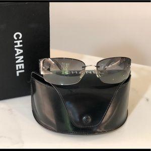 CHANEL Accessories - CHANEL iridescent sunglasses